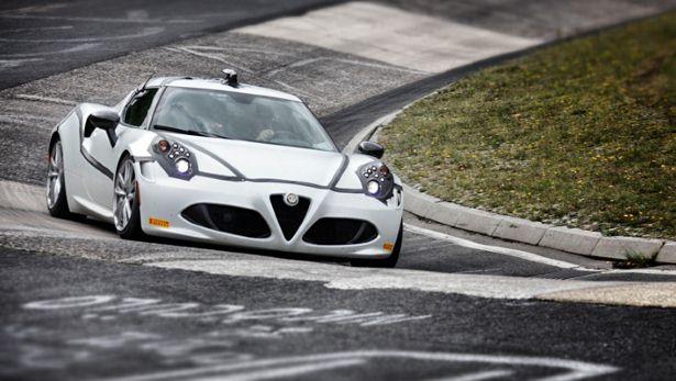 Alfa Romeo 4C - Nordschleife