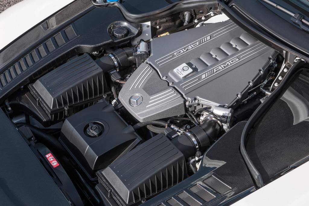 Mercedes-Benz SLS AMG GT Roadster; (BR 197); Paris 2012