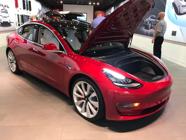 Model 3 front